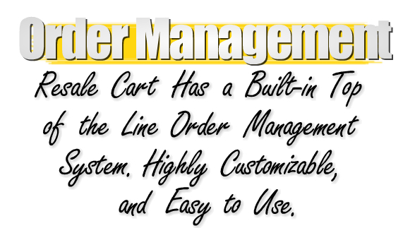 Shopping Cart Order Management